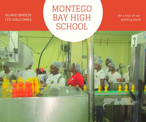 Island Breeze Ltd Welcomes Montego Bay High School for a Tour