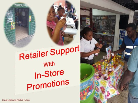 Island Breeze Ltd Supports Retailers With In-Store Promotions